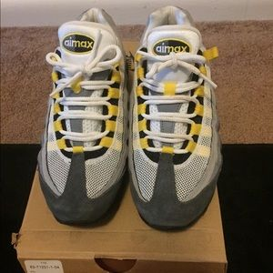 Other - Air Max 95 (GS) yellow, grey, white, blk